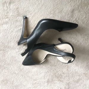 Black Shoemint heel